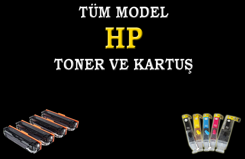 HP TONER VE KARTUŞ SATIŞI